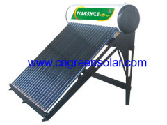 non-pressure solar energy water heating