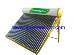 glass vacuum tube solar heater