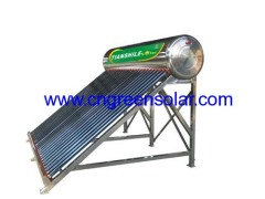 non pressure vacuum tube solar water heating