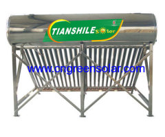 stainless steel tube solar heater