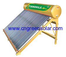 non pressure copper pipe solar energy heater