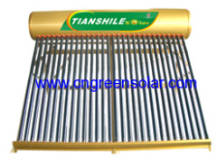 non pressure solar thermal water heater