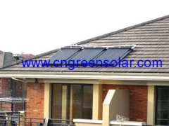 flat plate solar water heating