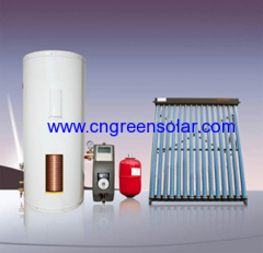 pressure series solar water heating