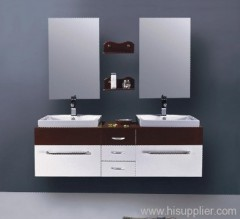 double sink bathroom cabinet