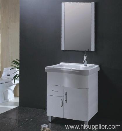White PVC Bathroom Vanities
