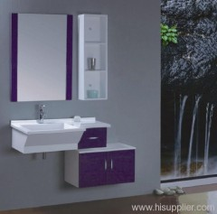 Purple PVC Bathroom Vanity