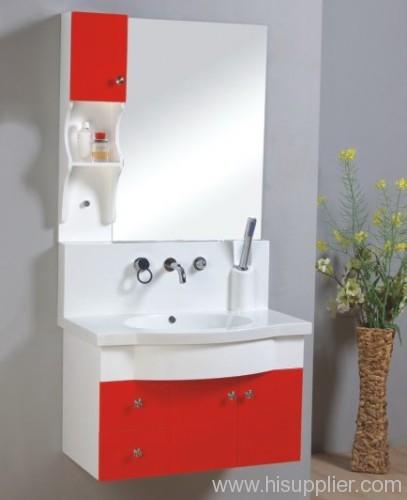 simple PVC bathroom vanity