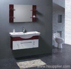 Oak Wood Bathroom Vanity