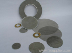 round panels stainless steel wire mesh