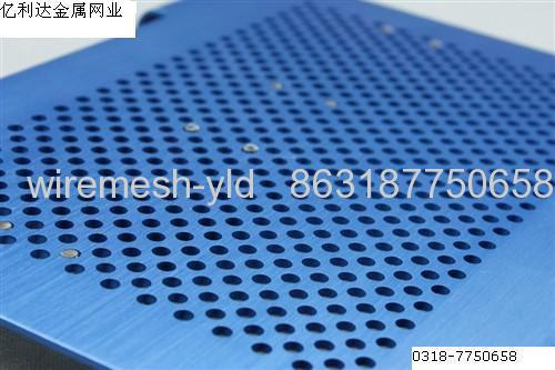 SS316 Staggered Round Holes Perforated Metal