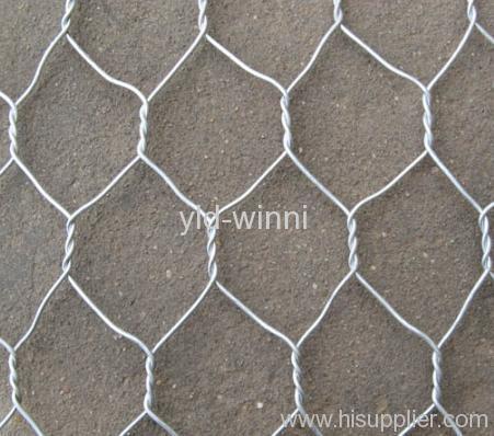 Hot Dipped Galvanized Hexagonal Meshes