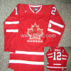 #12 Red Canada Olympic jersey