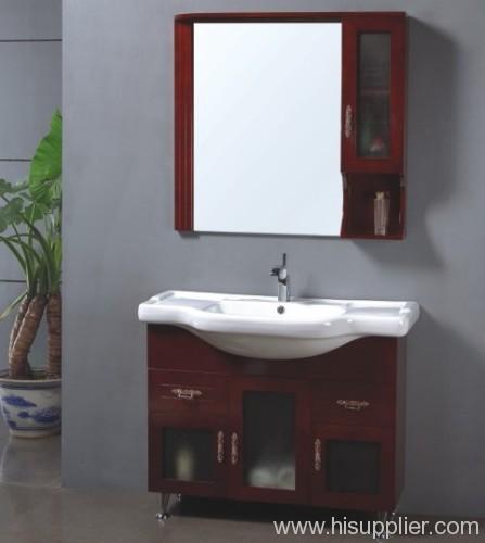 Oak Wood Bathroom Vanity