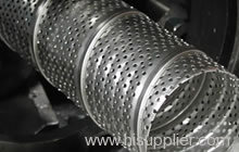 SS Sprial Welded Perforated metal mesh