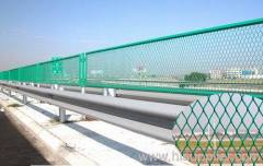 PVC Coated Expanded Metal Mesh Fencing
