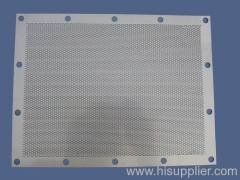 Slotted Hole SS Perforated metal mesh