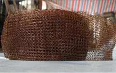 copper wire mesh for filter liquid gas