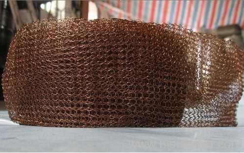 copper wire mesh for filter liquid gas