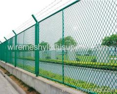 barbed expanded metal fences