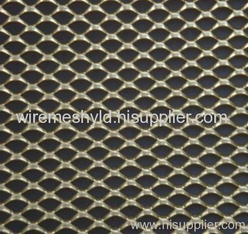 decorative expanded metal panels