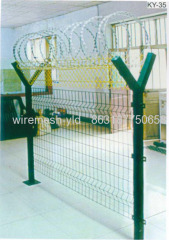 ''Y ''Type Welded Wire Mesh Fence