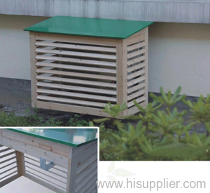 Air Conditioner Cover Outside Lattice Ideas For Patio