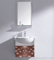 single sink bathroom cabinet