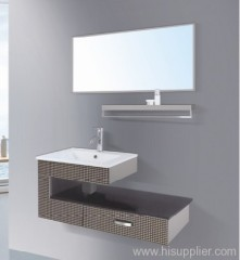 Modern Stainless Steel Bathroom Vanity