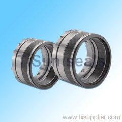 acting radial hydrodynamic mechanical seal