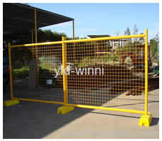 PVC Coated Temporary Fences