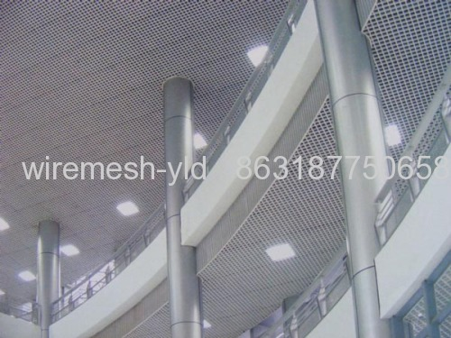 Hung Ceiling Perforated Metal