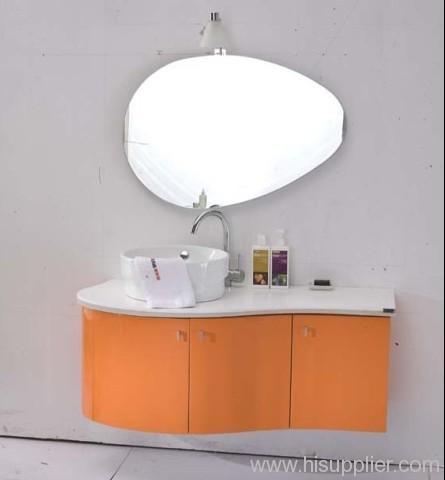 Orange Bathroom Vanity