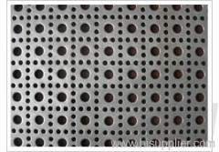 SS Round Hole Perforated plate mesh