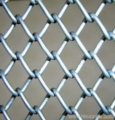 Galvanized Chain Link Fence Net