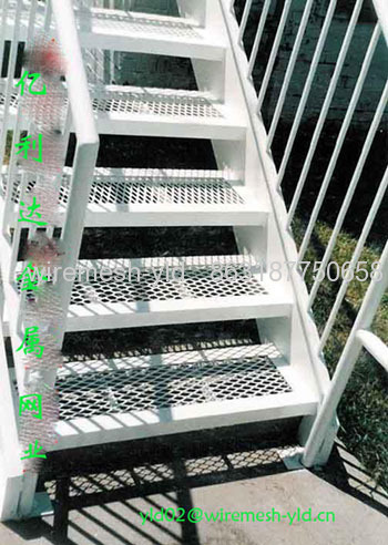 Standard Expanded Metal Stair Treads From China