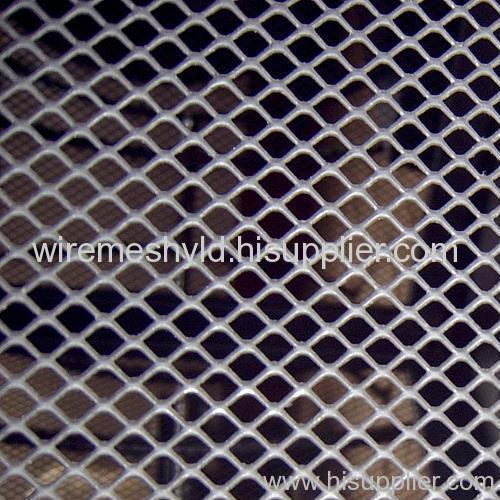 pvc coated diamond expanded metal meshes