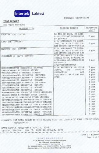 Rohs certificate3