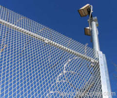 Low Carbon Steel Expanded Metal Fence