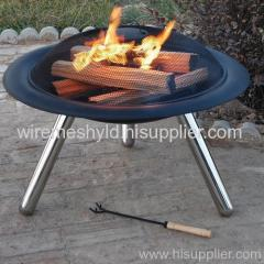 BBQ stove expanded metal meshes
