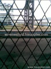 diamond expanded metal fences