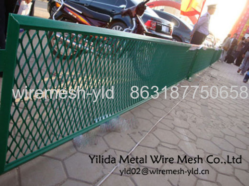 Green Color Diamond Mesh