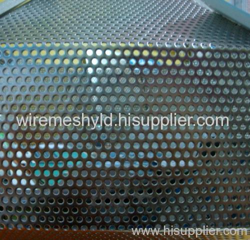 round stainless steel perforated metal mesh