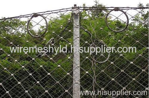 high way wire mesh fence