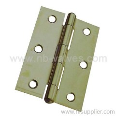 Brass Bright Heavy Iron Hinge