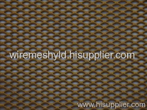brass coated decorative meshes