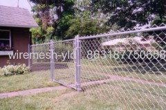 Hot-dipped Galvanized Residential Fence