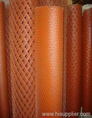 PVC Coated Expanded metal Mesh Coil