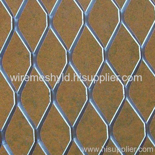 standard electro-galvanized expanded metal meshes