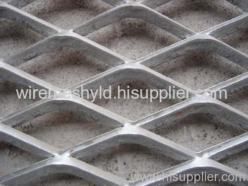 standard hot-galvanized expanded metal meshes